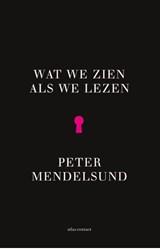 Wat we zien als we lezen   Peter Mendelsund  