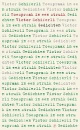 Toespraak in een struik   Victor Schiferli  