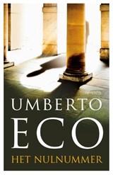 Het nulnummer   Umberto Eco  