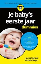 Je babys eerste jaar voor Dummies