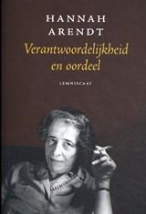 Verantwoordelijkheid en oordeel | Hannah Arendt |