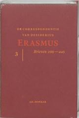 De correspondentie van Erasmus 3   Desiderius Erasmus  
