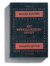 Het werkelijkheidseffect   R. Barthes  