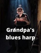 Grandpa's blues harp