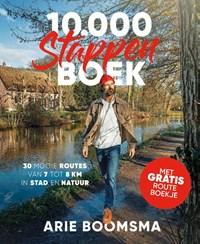 10.000 stappenboek   Arie Boomsma  