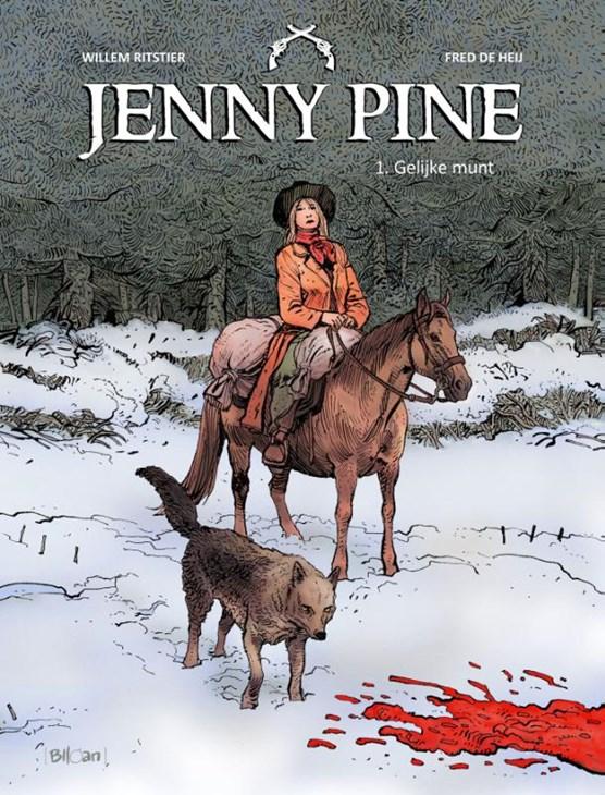 Jenny pine Hc01. gelijke munt