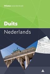 Prisma woordenboek Duits-Nederlands | van J.A.H. Gemert | 9789000358557
