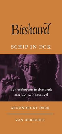 Schip in dok   J.M.A. Biesheuvel  