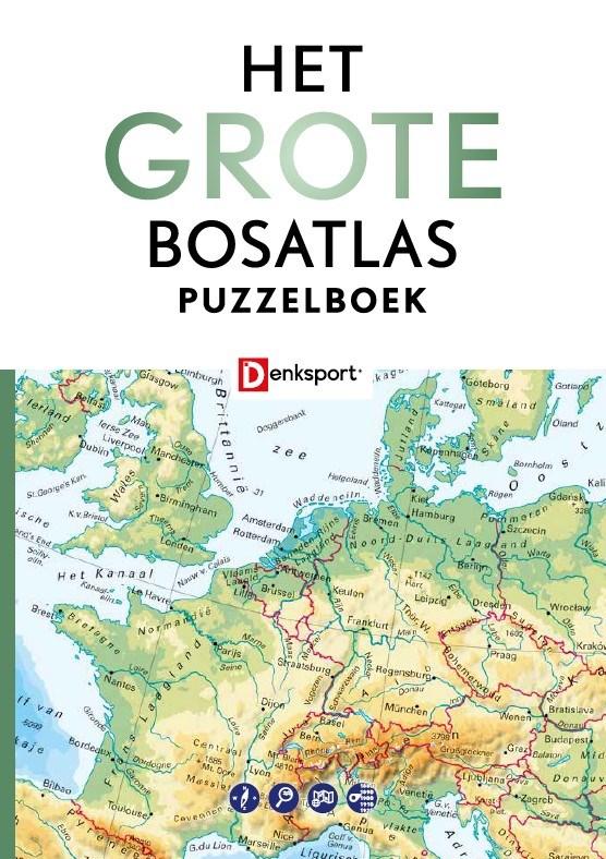 Het Grote Bosatlas puzzelboek
