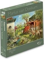 Marius van Dokkum - Kippenhok (1000 stukjes) | Puzzel | 8713341900091