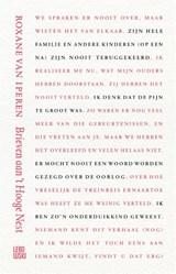 Brieven aan 't Hooge Nest | Roxane van Iperen | 9789048862986