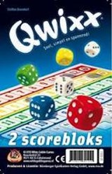 Qwixx Bloks (extra scorebloks) | White Goblin | 8718026301811