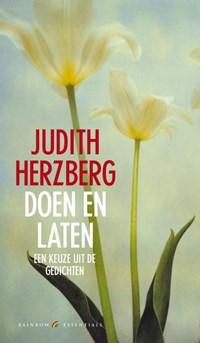 Doen en laten | Judith Herzberg |