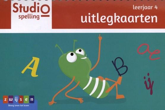Studio Spelling leerjaar 4 uitlegkaarten