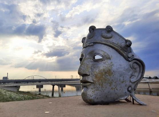 Het gezicht van Nijmegen puzzel 1000st