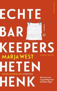 Echte barkeepers heten Henk | Marja West |