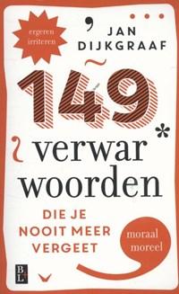149 Verwarwoorden | Jan Dijkgraaf |