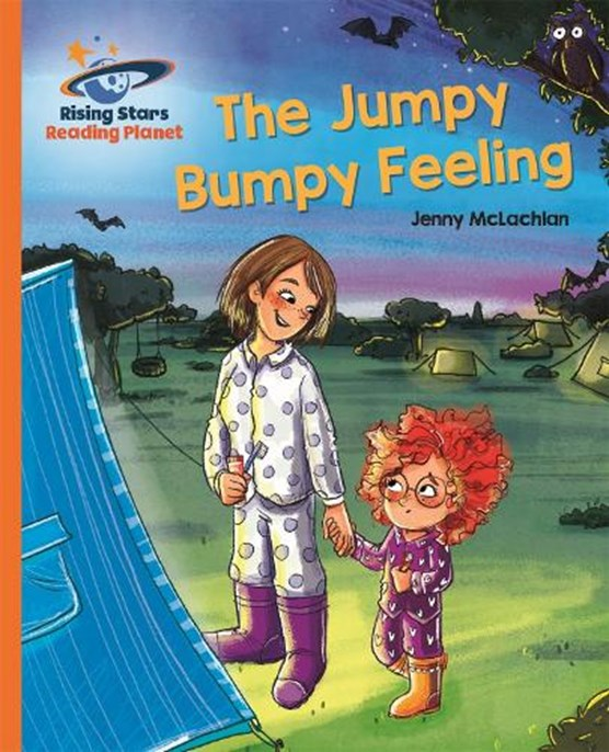 Reading Planet - The Jumpy Bumpy Feeling - Orange: Galaxy