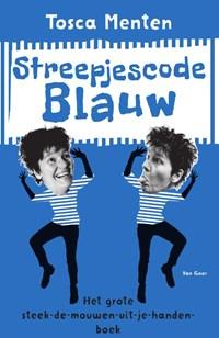 Streepjescode Blauw | Tosca Menten |