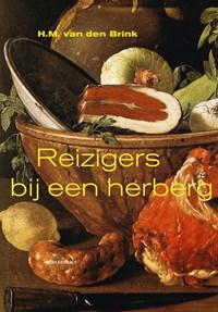 Reizigers bij een herberg   Hans Maarten van den Brink  