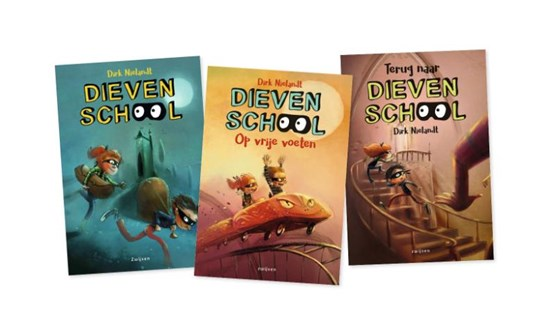 Pakket Dievenschool (3 titels)