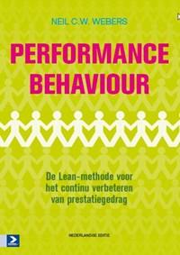Performance behaviour | Neil C.W. Webers ; Taalwerkplaats |