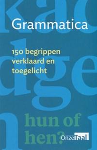 Grammatica | Genootschap Onze Taal |