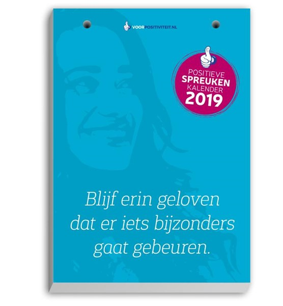 Scheurkalender positieve spreuken 2019