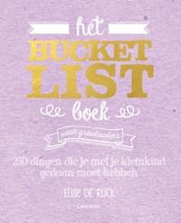 Het Bucketlist Boek voor grootouders   Elise De Rijck  