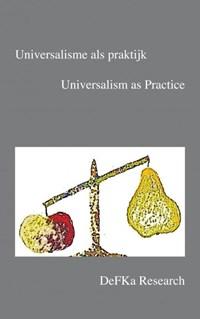 Universalisme als praktijk | Gert Wijlage (red.) |