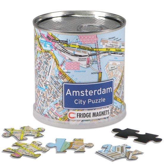 Amsterdam city puzzle (100 pieces)