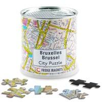 Brussel city puzzel magnetisch   auteur onbekend  