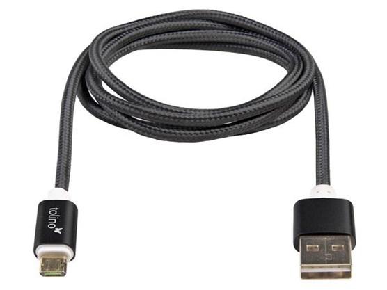 Tolino USB kabel (Zwart)
