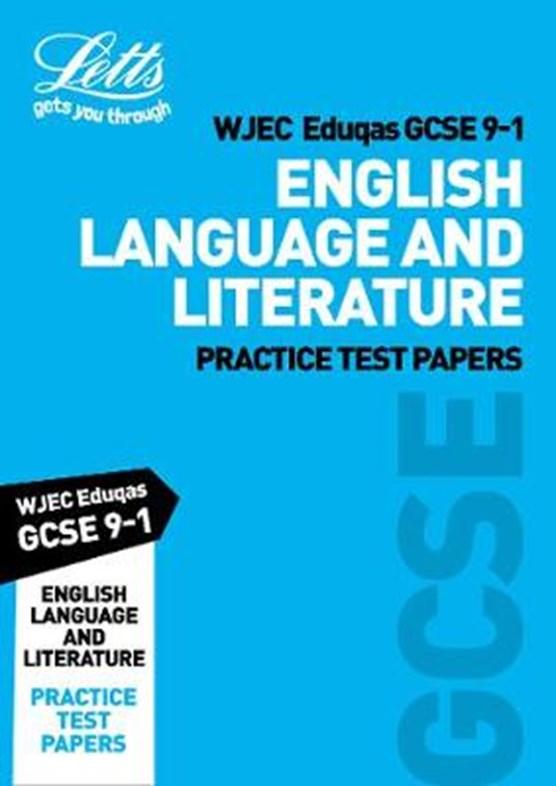 Grade 9-1 GCSE English Language and English Literature WJEC Eduqas Practice Test Papers