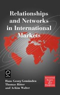 Relationships and Networks in International Markets   H.G. Gemunden ; Thomas Ritter ; Achim Walter  
