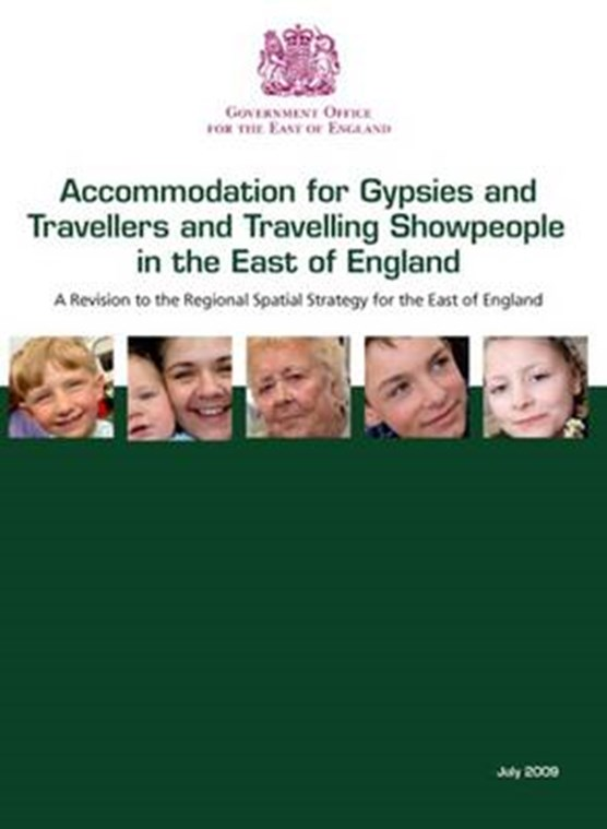 Accommodation for gypsies and travellers and travelling showpeople in the east of England