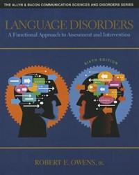 Language Disorders   Jr. Owens Robert E.  