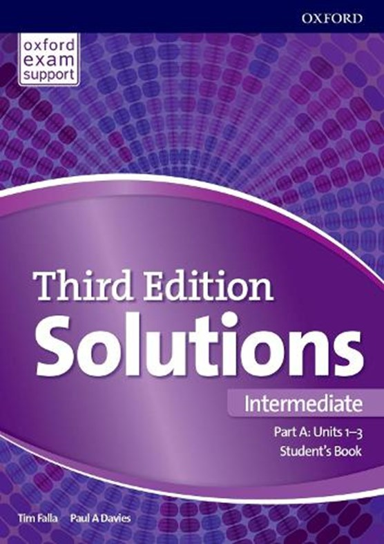 Solutions: Intermediate: Student's Book A Units 1-3
