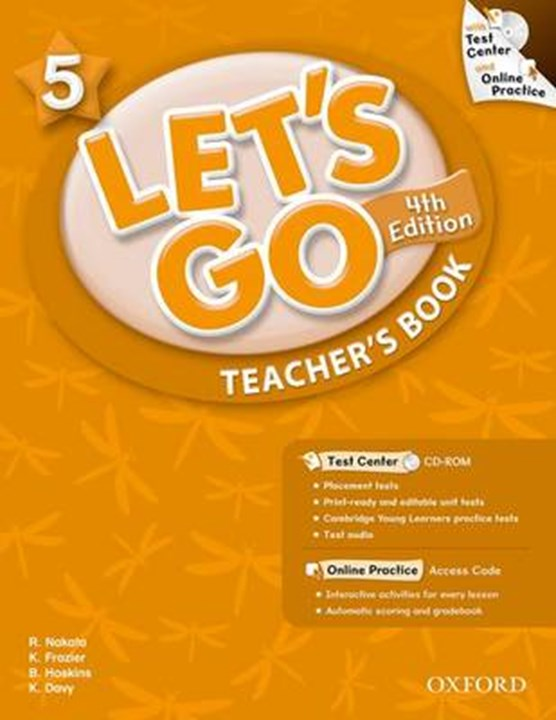 Let's Go 5: Teacher's Book with Test Center Pack