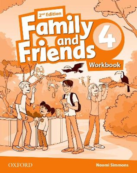 Family and Friends: Level 4: Workbook