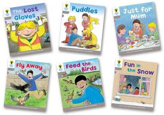 Oxford Reading Tree: Level 1: Decode and Develop: Pack of 6