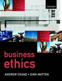 Business Ethics | Andy Crane |