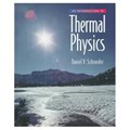 Introduction to Thermal Physics | Daniel V. Schroeder |