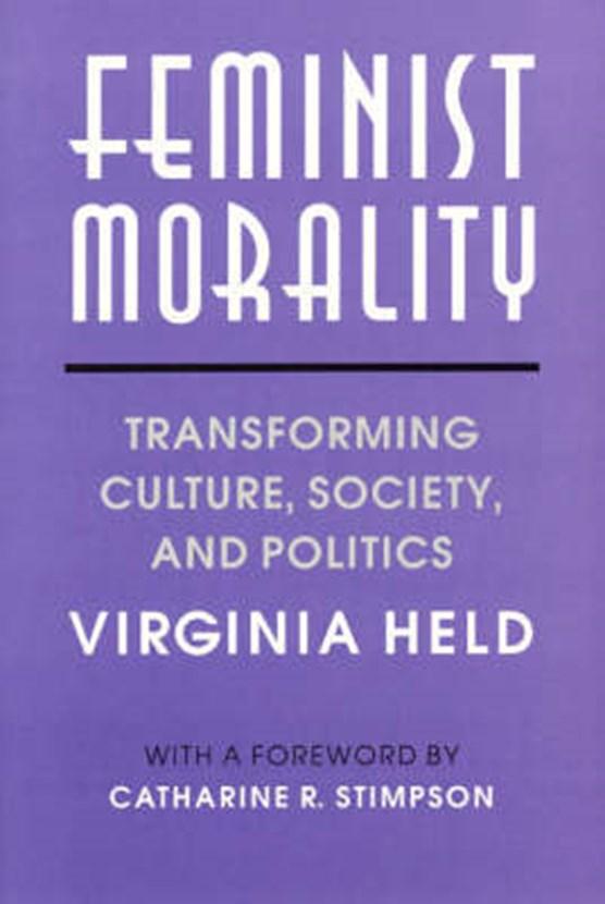 Held, V: Feminist Morality (Paper)