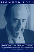 Psychology in Human Context   Sigmund Koch  