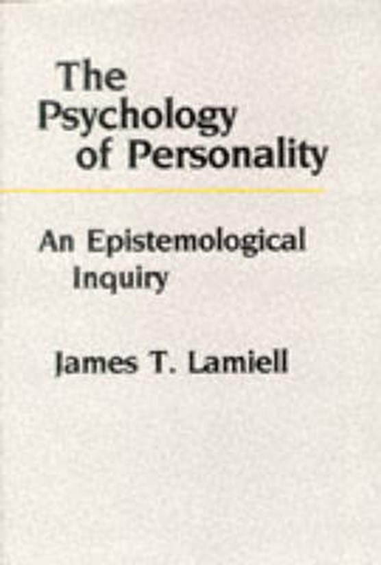 The Psychology of Personality