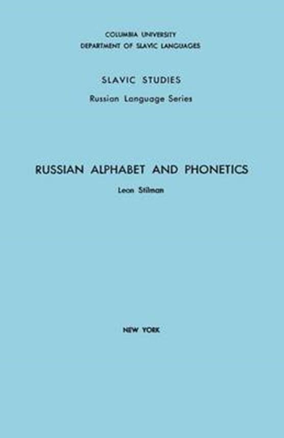 Russian Alphabet and Phonetics