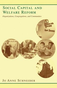 Social Capital and Welfare Reform   Jo Anne Schneider  