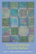 Research Methods in Child Welfare | Baker, Amy J.L. ; Charvat, Benjamin S. |