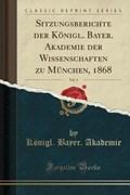 Akademie, K: Sitzungsberichte der Königl. Bayer. Akademie de   Königl. Bayer. Akademie  